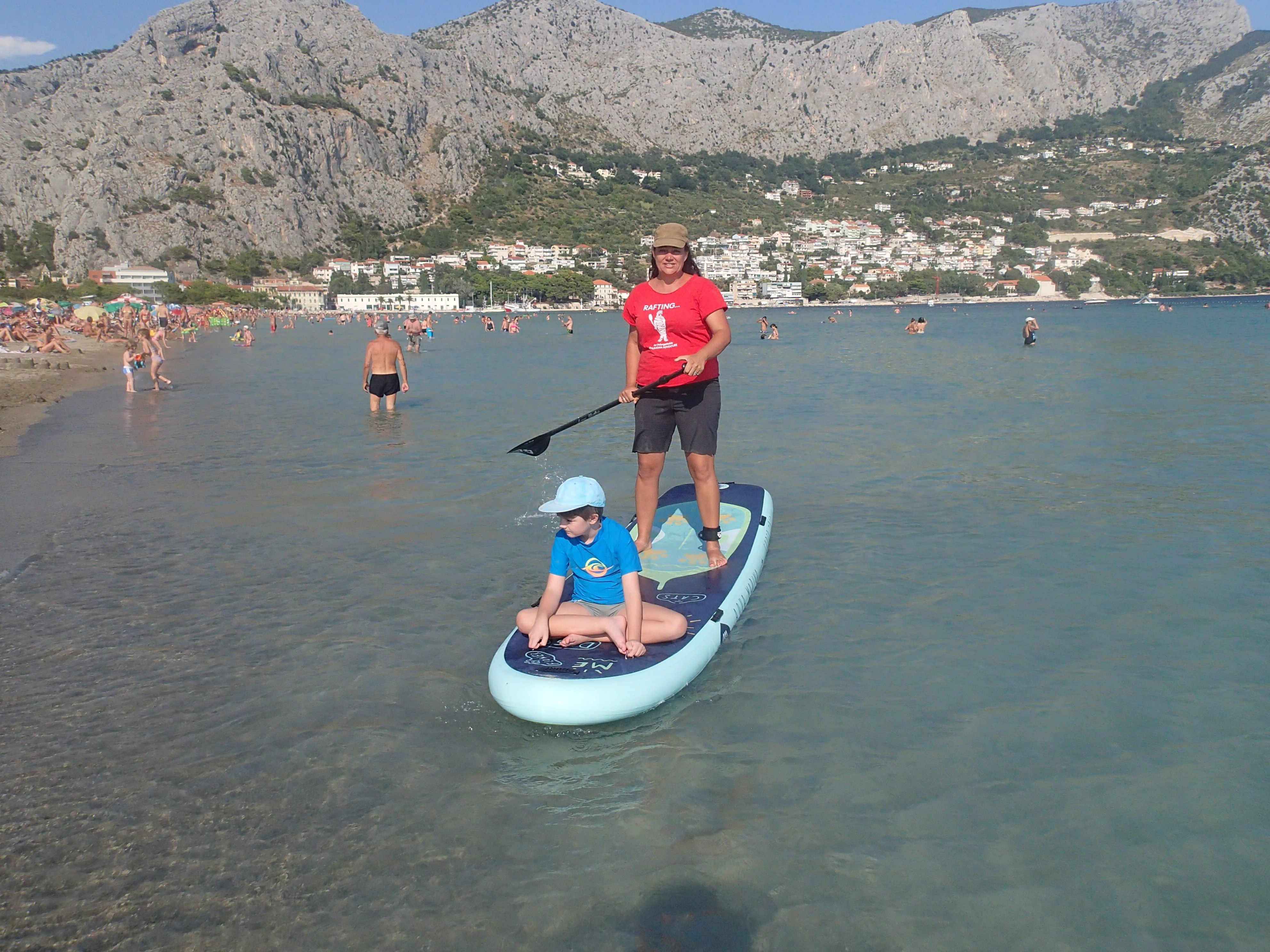 STAND UP PADDLE BOARDING TOUR ON THE RIVER CETINA